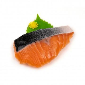 Frozen Salmon Fillet Slant Cut Skin On 150gm+-